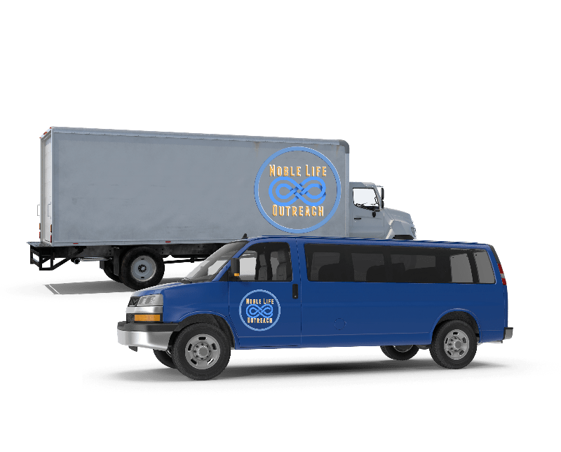 Proceeds From Your Vehicle's Sale Will Help NLO Purchase a Commercial Van and/or Truck to Distribute More Food to More Pantry's